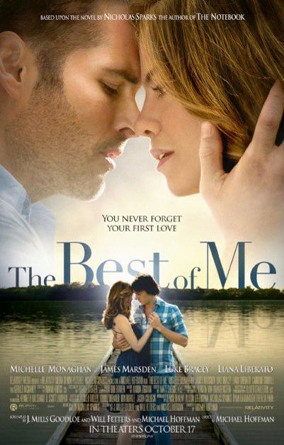 愛情片《有你生命最完整》10月17日北美上映。電影海報。p1026-a1-11
